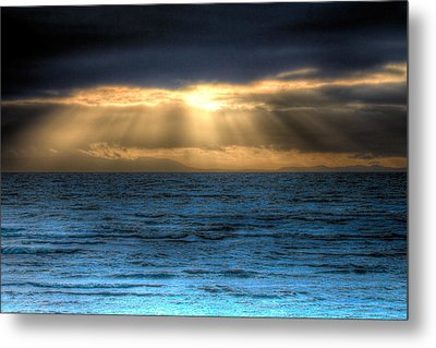Rays Of Light 2 Metal Print by Naman Imagery