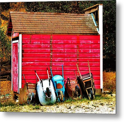 Retired Metal Print by Helen Carson