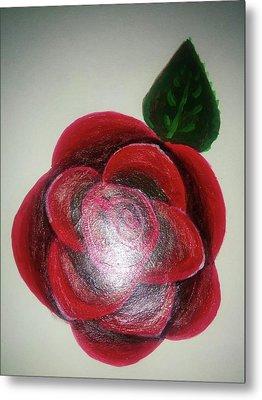 Rose Metal Print by Shweta Singh