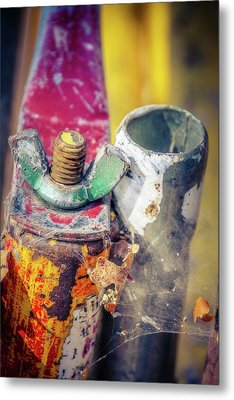 Rusted Out Metal Print by Terry Davis