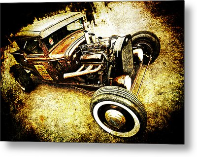 Rusty Rod Metal Print by Phil 'motography' Clark