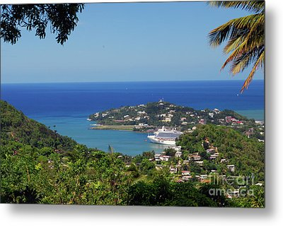 Metal Print featuring the photograph Saint Lucia by Gary Wonning