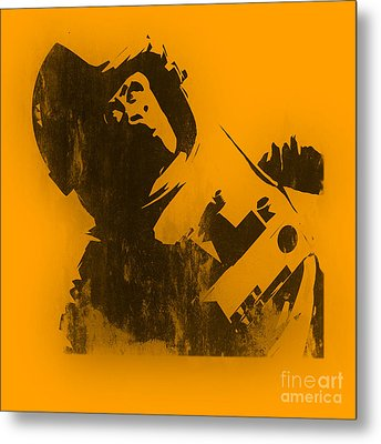 Space Ape Metal Print