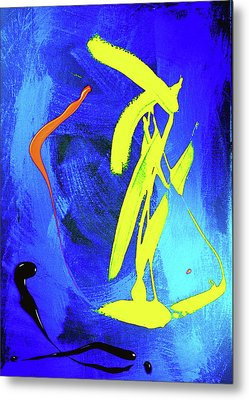 Metal Print featuring the photograph Space Dance by Elf Evans