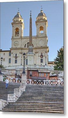 spanish steps in Rome Metal Print by Joana Kruse