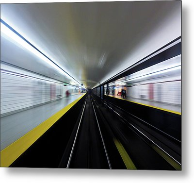 Metal Print featuring the photograph Speed 3 by Brian Carson