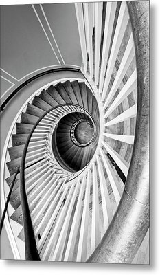 Spiral Staircase Lowndes Grove Metal Print
