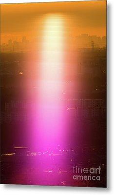 Spiritual Light Metal Print