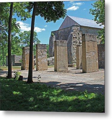 Stonehenge At Lockridge Metal Print by Robert Sander