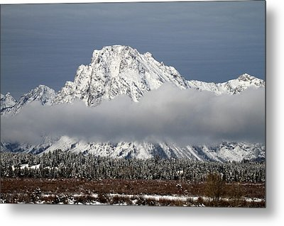 Sunrise In Grand Teton National Park Metal Print by Pierre Leclerc Photography