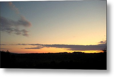 Sunset Over Oxford Metal Print by Marcia Crispino
