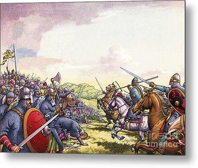 The Battle Of Hastings Metal Print