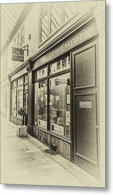 The Bear Shop Metal Print by Steve Purnell