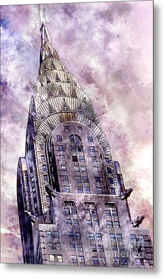 The Chrysler Building Metal Print