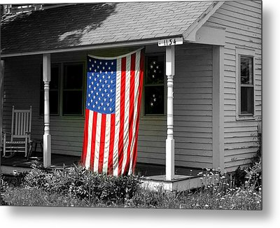 The Colors Of Freedom Metal Print by Linda Galok