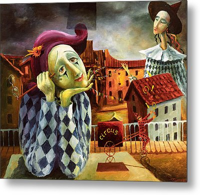 The Dreamer Metal Print by Igor Postash
