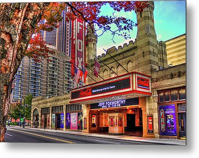 The Fabulous Fox Theatre Atlanta Georgia Art Metal Print by Reid Callaway