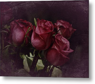Metal Print featuring the photograph The Four Roses by Richard Cummings