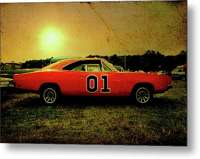 Metal Print featuring the photograph The General Lee by Joel Witmeyer