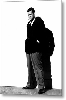The Lady From Shanghai, Orson Welles Metal Print by Everett