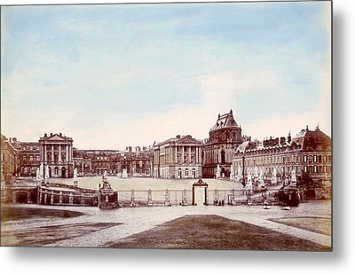 The Palace Of Versailles. C. 1880 Metal Print by Everett