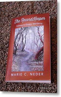 Metal Print featuring the photograph The Recordkeeper by Marie Neder