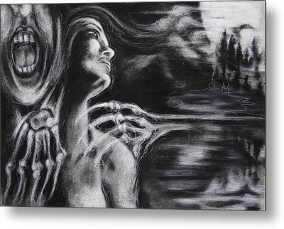 The Turning Point Metal Print by Christine Wagner