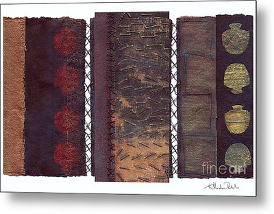 Three Panel Transitional Page Format  Metal Print by Kerryn Madsen- Pietsch