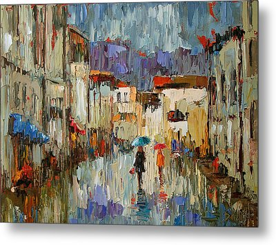 Tourists Metal Print by Debra Hurd
