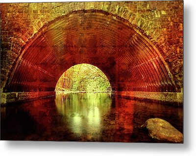 Metal Print featuring the photograph Tunnel Vision by Alan Raasch