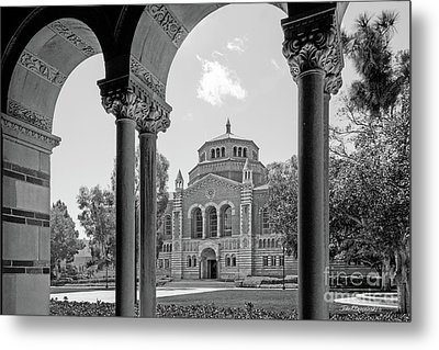 University Of California Los Angeles Powell Library Metal Print