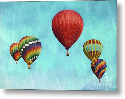 Metal Print featuring the photograph Up Up And Away 2 by Benanne Stiens