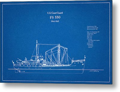 U.s. Coast Guard Fs 550 Metal Print
