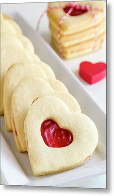Metal Print featuring the photograph Valentines Day Treats by Teri Virbickis