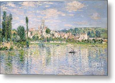 Vetheuil In Summer, 1880 Metal Print by Claude Monet