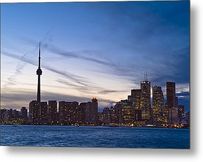 View From Islands Of Skyline Toronto Metal Print by Richard Nowitz