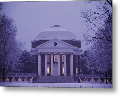 View Of The University Of Virginias Metal Print by Kenneth Garrett