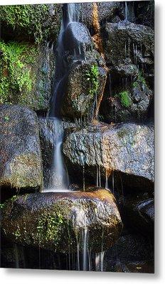 Waterfall Metal Print by Carlos Caetano