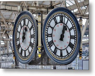 Waterloo Station - London Metal Print by Joana Kruse