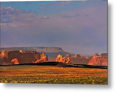 Wide-open Spaces - Page Arizona Metal Print by Christine Till