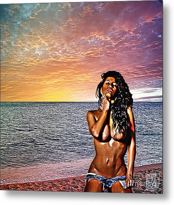 Wish You Were Here Metal Print by The DigArtisT