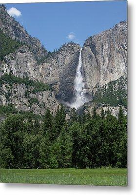 Yosemite Falls - California Metal Print by Brendan Reals