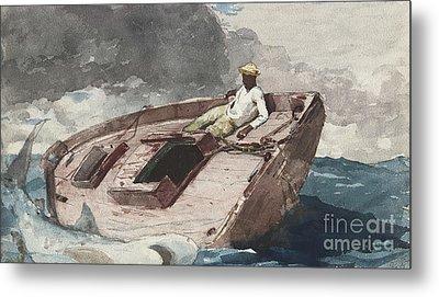 The Gulf Stream Metal Print by Winslow Homer