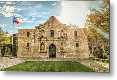 10862 The Alamo Metal Print
