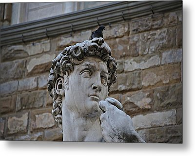 Metal Print featuring the photograph Florence Italy by Cendrine Marrouat