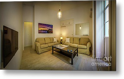 Metal Print featuring the photograph Apartment In The Heart Of Cadiz by Pablo Avanzini