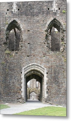 Caerphilly Castle Metal Print