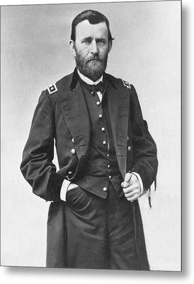 Ulysses S. Grant (1822-1885) Metal Print by Granger