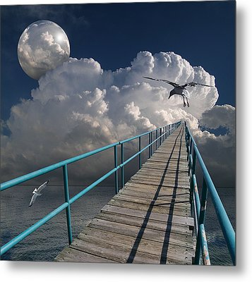 1875 Metal Print by Peter Holme III