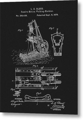 1879 Treadmill Metal Print
